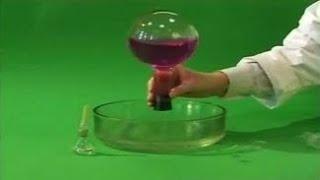 Опыты по химии. Растворение аммиака в воде