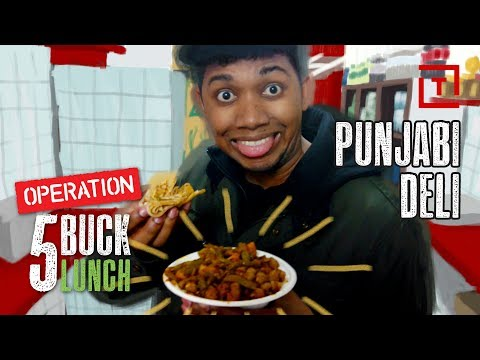 The Best Cheap Lunch in NYC's East Village || 5 Buck Lunch