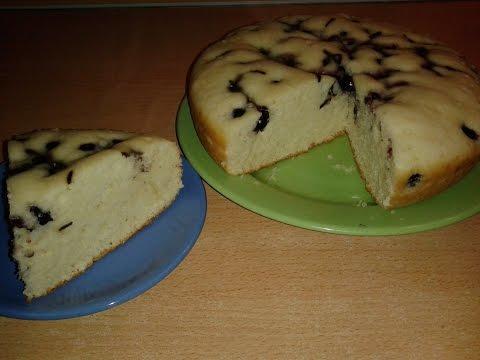 Пирог на ряженке  в мультиварке .