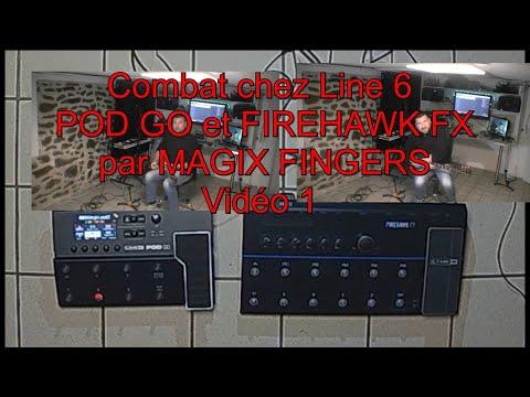 Comparatif Pod go et Firehawk Fx de chez Line 6 = 1 ère bataille