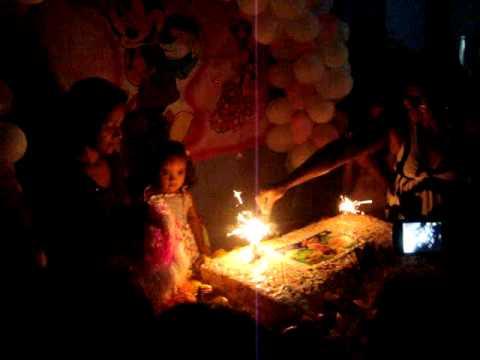 Aniversário de Isabela Santos