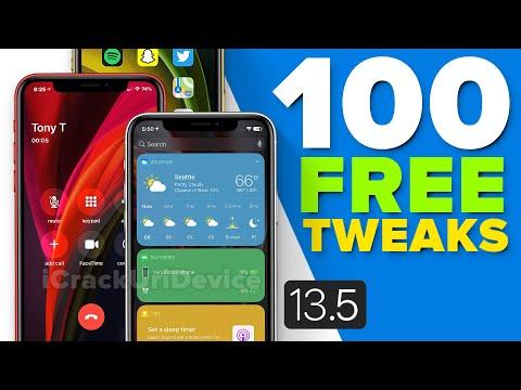 TOP 100+ FREE Cydia Tweaks For IOS 13.5 Jailbreak!