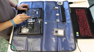 How to disassemble an HP 8460P