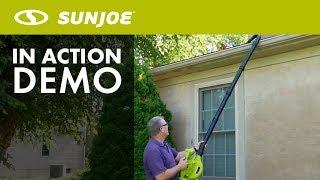 SBJ606E - Sun Joe 4 in 1 Electric Blower, Vaccum, Mulcher, and Gutter Cleaner Product Demo
