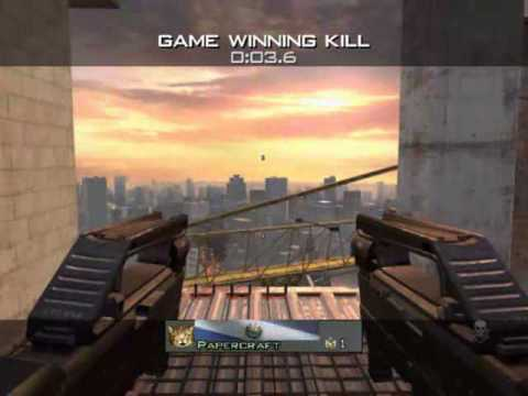 Papercraft - MW3 Game Clip