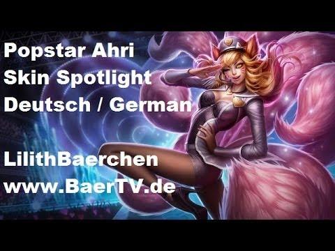 Popstar Ahri Skin Spotlight [Deutsch / German]