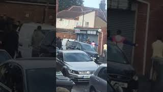 Asian gang fight in Luton England over drugs