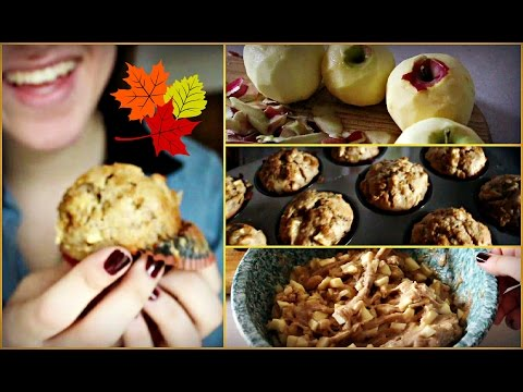Easy Apple Cinnamon Muffins!   Fall Recipes