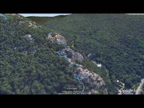 Breakneck Ridge (Cold Spring, NY) - updated hike flyover