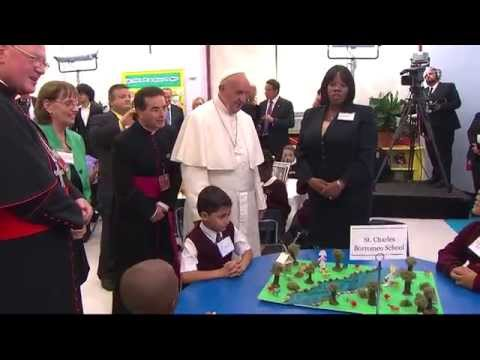 Pope Francis Visits School in East Harlem