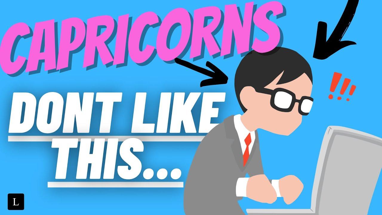 What do capricorn men like