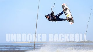 Learn Kitesurfing - The Unhooked Backroll - All About The Backroll _ BOUCH