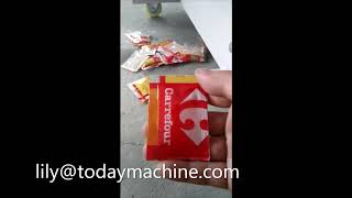 Automatic Filling Bag Tomato Paste  Ketchup  Chili Sauce Packing