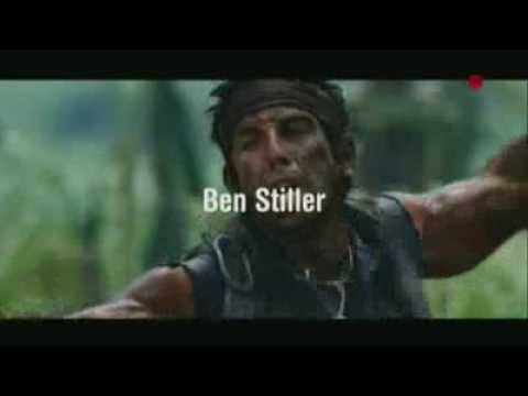 Anuncio Película Tropic Thunder  Una Guerra Muy Perra 2014