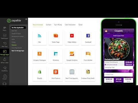 Mobile Agency Apps Live App Building Demo. http://bit.ly/2U8GsuW