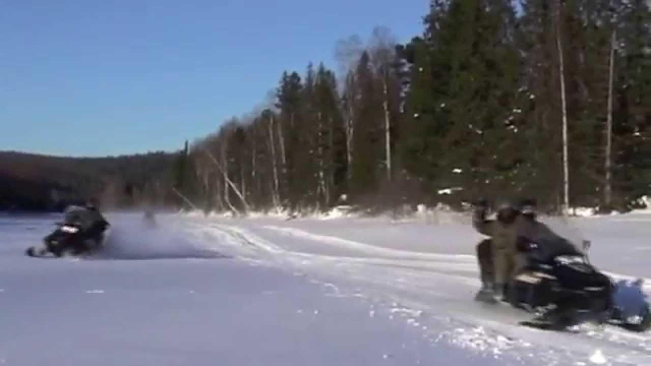 Путешествие на снегоходах в Уральские горы