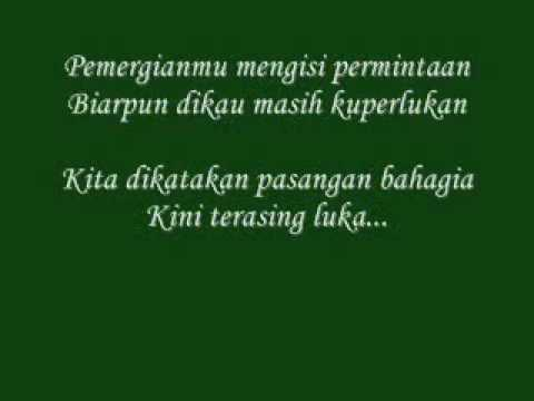 Sudirman - Terasing With Lyric (My Version)