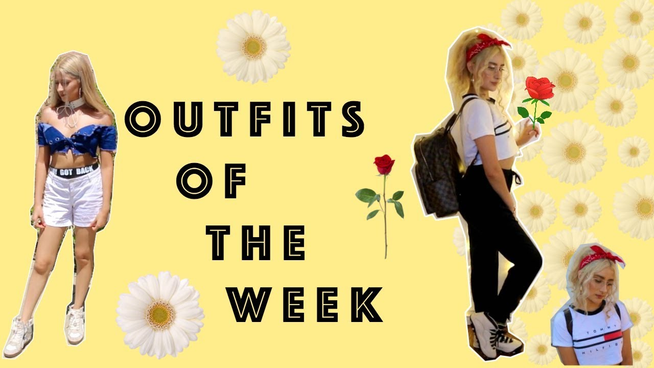 Outfits Of The Week: School | MY STYLE 2017 + 2000s vibe ♡ 1