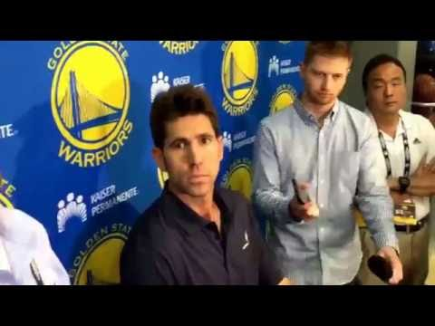 Warriors GM Bob Myers reflects on 15-16 season & upcoming NBA Draft #2