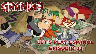 Grandia 1 Ep 03 - Ruinas Sult (PSX - Let