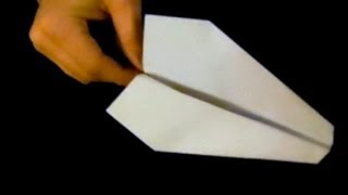 Origami Paper Airplane  - How To Make A Good Flying Paper Airplane