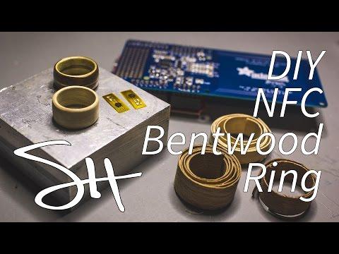 DIY NFC BENTWOOD RING!