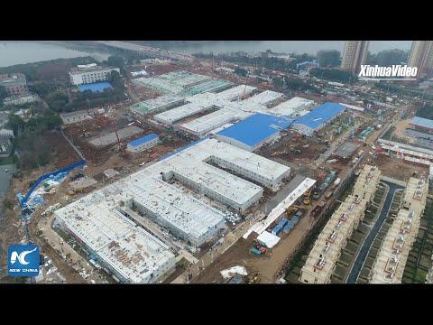 China builds new hospital in 10 days to combat coronavirus