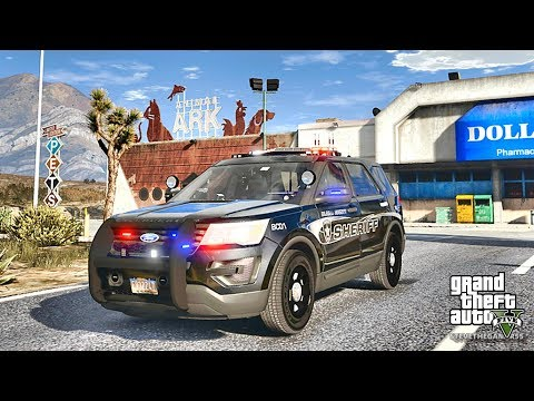 GTA 5 MODS LSPDFR 773 - EXPLORER PATROL !!! (GTA 5 REAL LIFE PC MOD)
