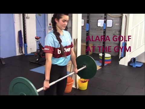 "West Ham fan says ""What you should do in the gym to improve your golf swing"" 