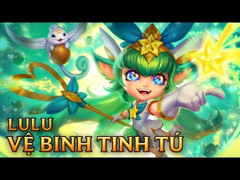 Lulu Vệ Binh Tinh Tú - Star Guardian Lulu - Skins lol