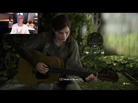 Mark Hoppus playing Dammit on The Last Of Us 2
