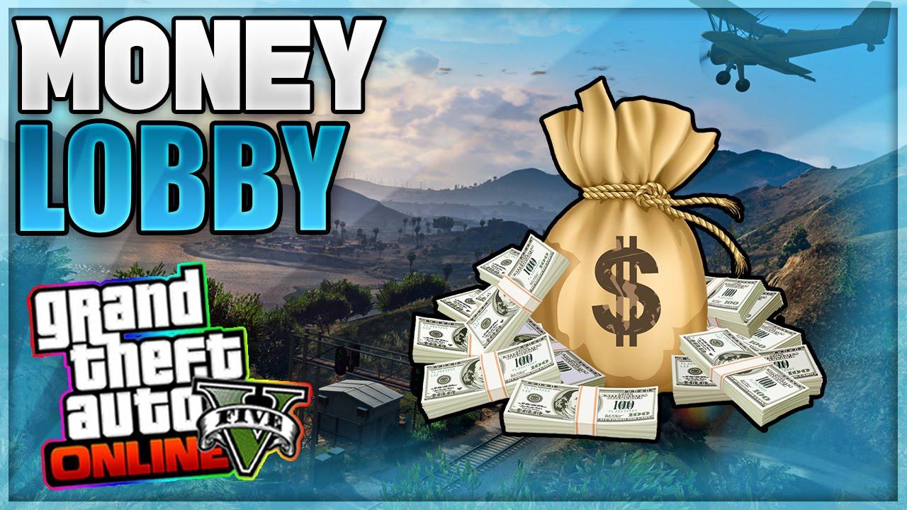 gta online money drop lobby