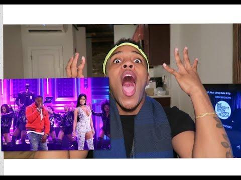 Yo Gotti ft. Nicki Minaj - Rake It Up LIVE (Tonight Show) | REACTION