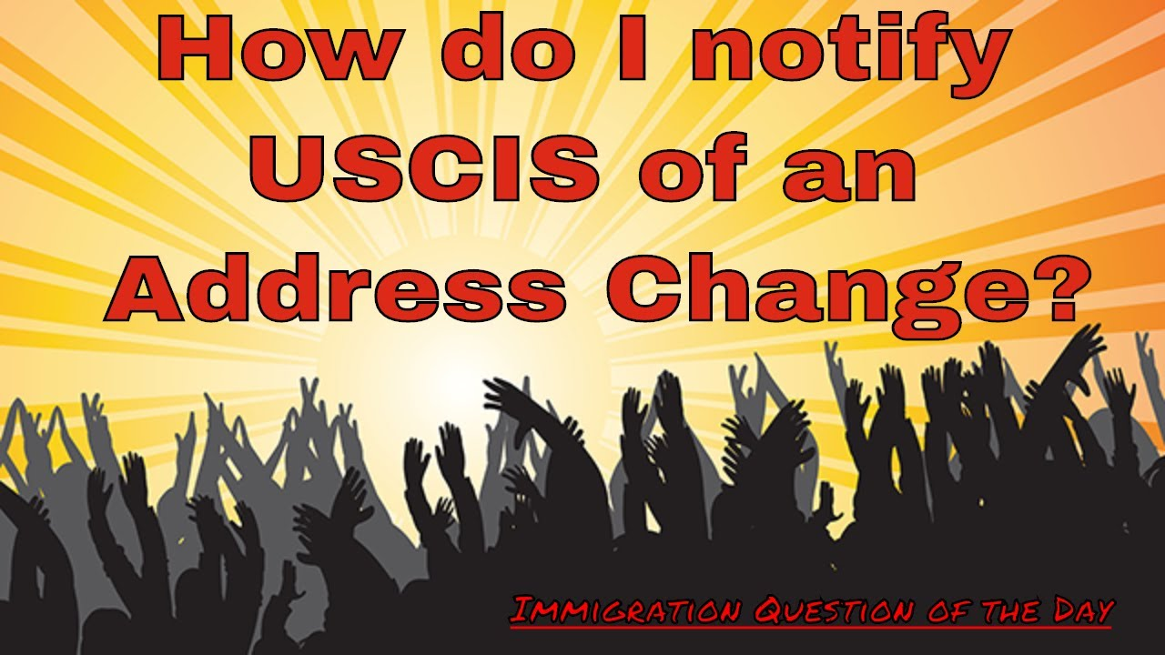 How do i notify uscis of an address change youtube how do i notify uscis of an address change falaconquin