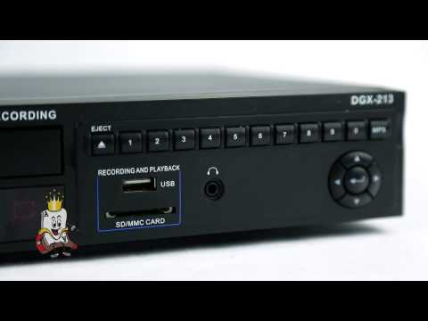 Acesonic DGX-213 Multi-Format Karaoke Player