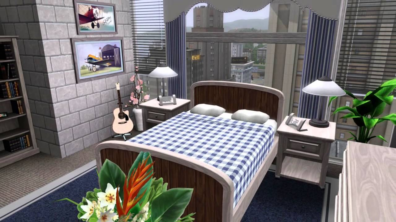 The sims 3 house building apartment edenz 26 youtube for Apartment design sims 3