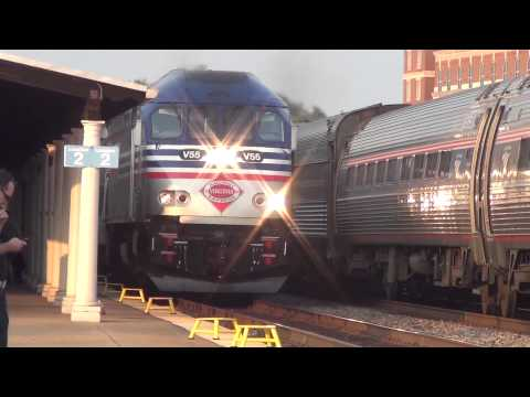 HD Railfanning Alexandria VA - VRE, Amtrak & CSX Action - 8/1 - 8/3 2012 (Part 1)