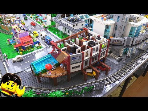 LEGO apartment MOC building progress part 5