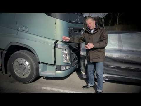 "Volvo Trucks - Testing Collision Warning with Emergency Brake - ""Trucks' Anatomy"" (E01)"