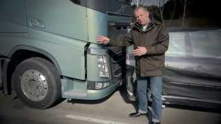 "Volvo Trucks - Testing Collision Warning with Emergency Brake - ""Trucks"