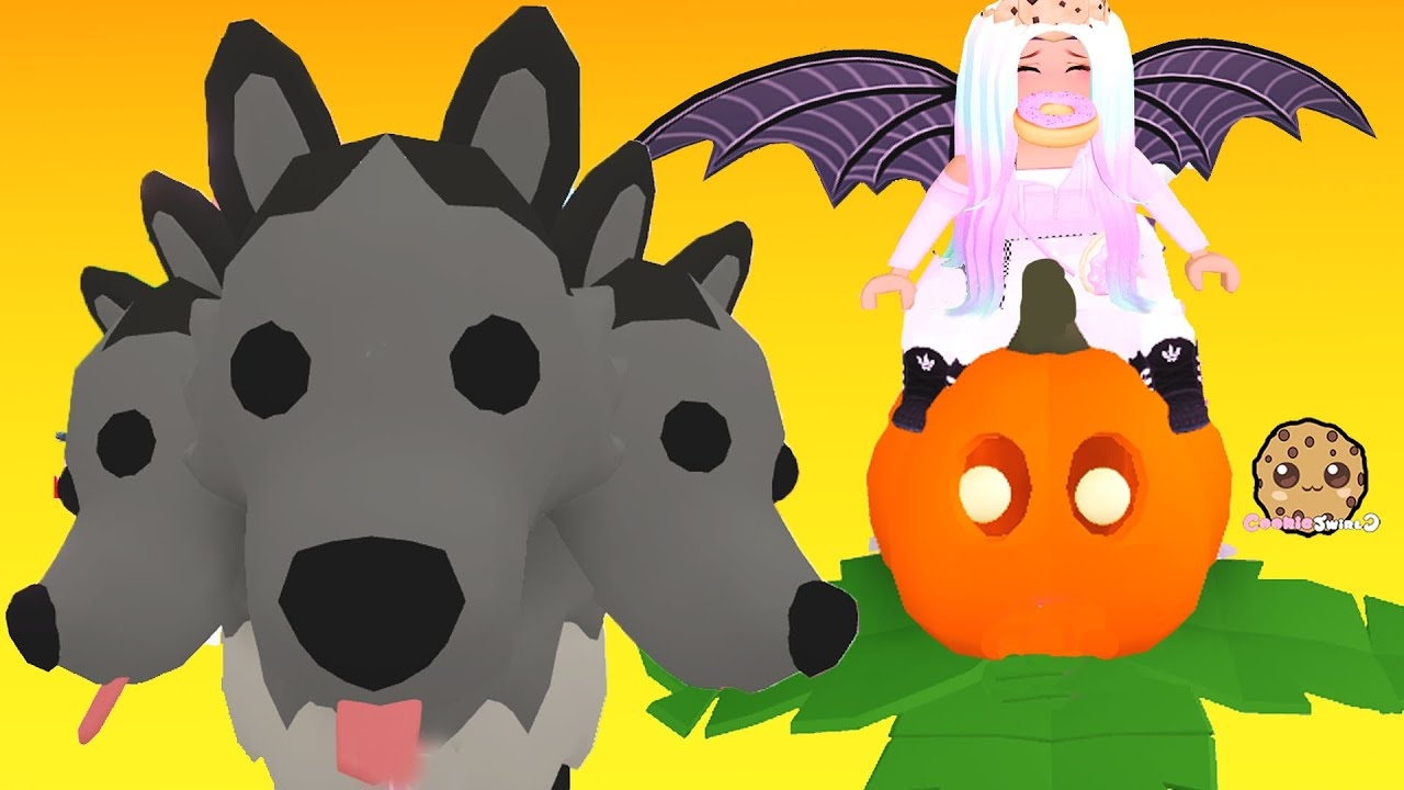 Free Fly Ride Pet New Halloween Pets In Adopt Me Roblox Youtube