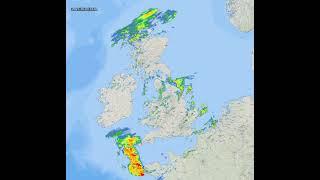UK Rain Radar - 2021/10/20 screenshot 4