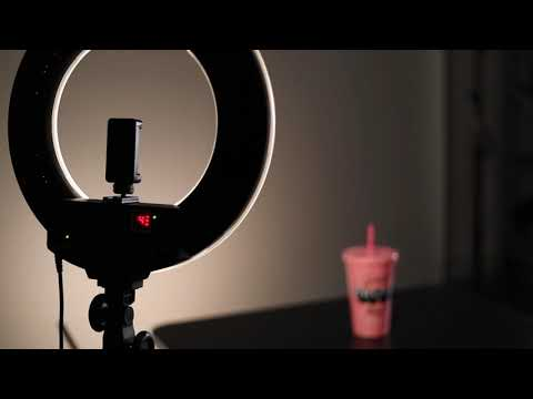GVM Bi-Color LED Ring Light with Remote Control