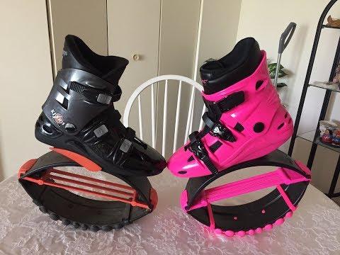 Battle of the Boots: Kangoo Jumps Vs  Bounce Boots