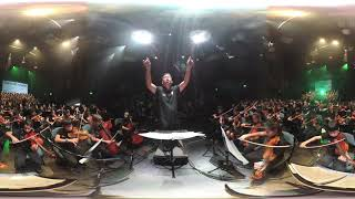 FOBISIA Primary Music Festival Thriller in Manila 2019 360 Video 5.7k Conducted by Boyet Sabas
