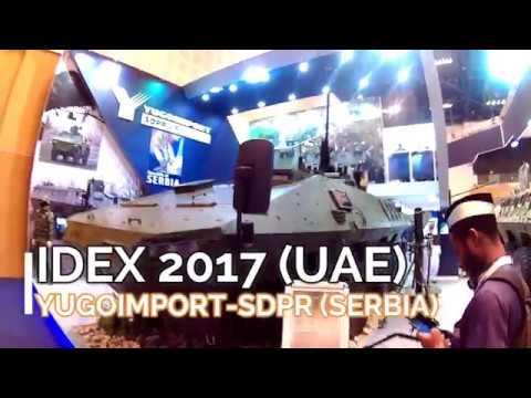 IDEX 2017 (UAE) - YUGOIMPORT SDPR - SERBIA