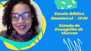 EBD Classe dos Maiores | 11/07/2021 | Evangelho de Marcos 6: 14 - 29 | A morte de João Batista