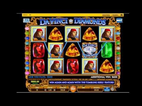 Da Vinci Diamonds maquinita tragamonedas: tips y trucos para jugar y ganar