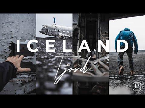 Lightroom Mobile Preset - Iceland Fjord