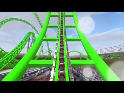 Monster NEW for 2016 Adventureland Iowa POV (unofficial) NoLimits Coaster